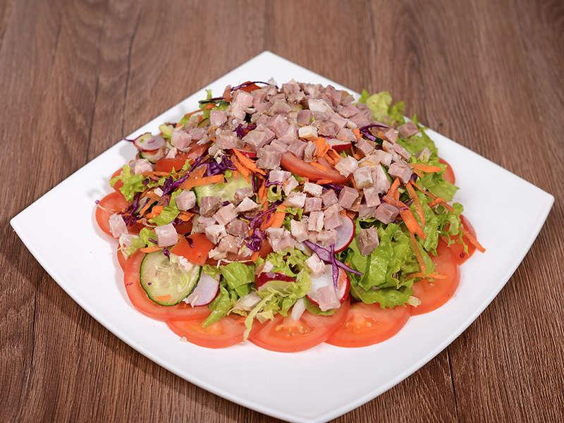 obrok salata sa teletinom